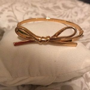 Gold Plates Kate Spade New York Bow Bangle